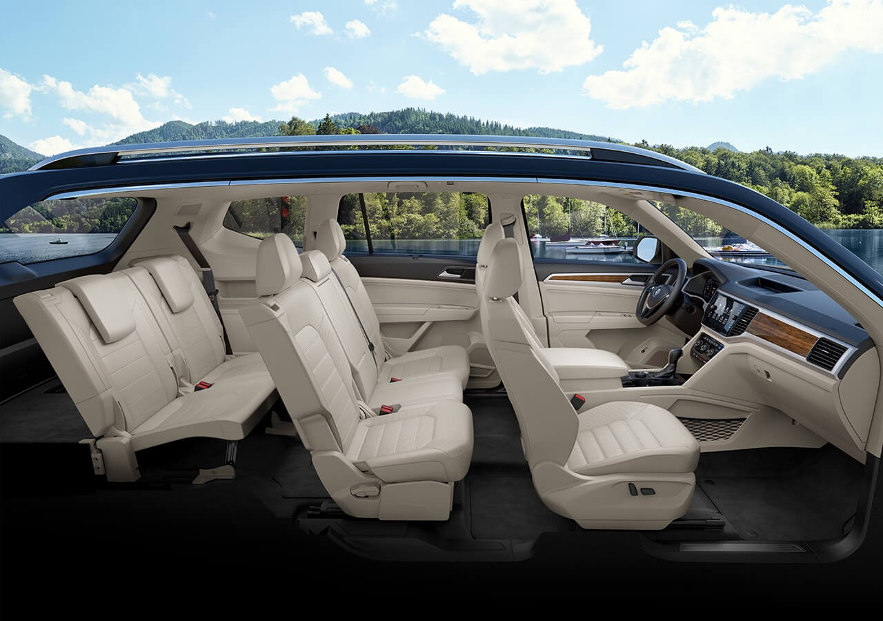 2018 volkswagen atlas. delighful atlas inside of a volkswagen atlas with seats inside 2018